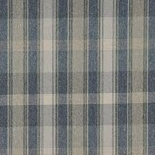 ivory upholstery fabric blue green and ivory large plaid country tweed upholstery fabric