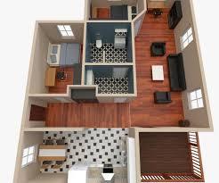 Flooring Plan by 3d House Floor Plan 2 Cgtrader
