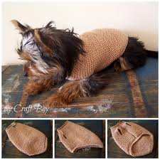 knitted dog sweater free pattern knitted doggie pinterest