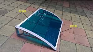 plastic patio covers patio awning pergola awnings buy clear