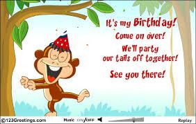 birthday invitation e cards paperinvite
