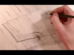 drawing a old book on a wood table with a pencil hd youtube