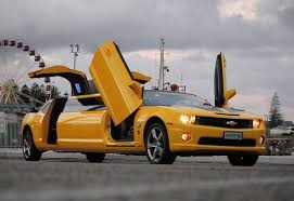 camaro limousine chevy camaro transformers bumblebee limo