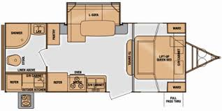 Floor Plan Finder 2014 Cruiser Rv Fun Finder Series M 215 Wsk Specs And Standard