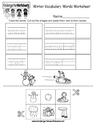 free kindergarten winter worksheets learning about the coldest