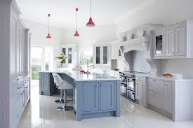 Manor House Kitchens by Bespoke Handpainted Solid Wood Inframe Kitchen Painted In Grey