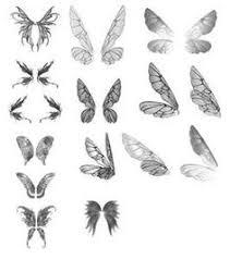 02 wings faces figure drawing 2 drawings