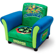 Upholstered Club Chairs by Delta Children U0027s Products Nickelodeon Ninja Turtle Upholstered