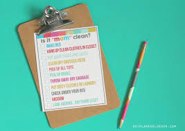 cleaning bedroom checklist is it mom clean bedroom checklist printables a girl and a