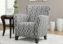 great patterned accent chairs with arms chairs marvellous gray