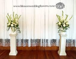 wedding altar flowers wedding ceremony flower arrangements altar wedding corners