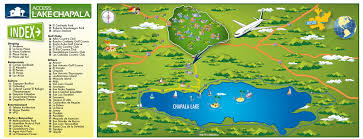 Mexico Airport Map by Lake Chapala Mexico Map Interactive Area Map Includes Ajijic