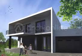 villa d architecte contemporaine cuisine plan d u0026 architecte de maison contemporaine corniche plan