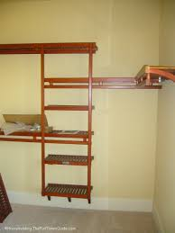 decent a wood closet organizer instead with spruce up your walkin