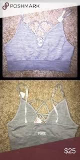 light purple sports bra sports bra 1 hour sale very light and comfy grey vs pink