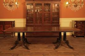 long dining room tables seating with dining room table seats idea details about double pedestal dining room table inlaid cross banding with dining room table seats