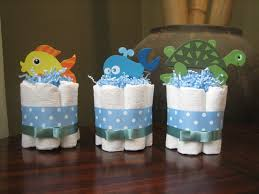 the sea baby shower decorations six the sea mini cakes for baby shower decoration or