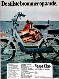 ciao style vespa mopeds and cars
