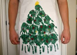 handprint tree apron make and takes