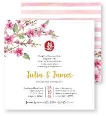 Cherry Blossom Wedding Invitations Cherry Blossoms Wedding Invites U2013 Invites Com Sg Dream U2022 Love