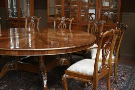 round mahogany dining table and chairs with ideas gallery 2790