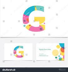 creative letter g design vector template stock vector 486554260