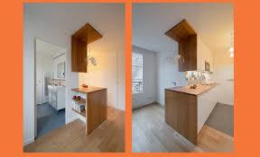 entree en cuisine a un deux pièces totalement remanié galerie photos d