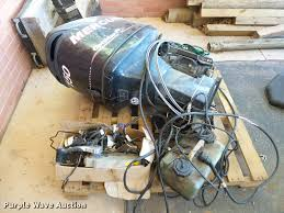 2007 mercury optimax 150 outboard motor item db4744 sold