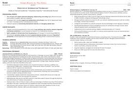 It Manager Resume Example by Gallery Thea Kelley Career Services