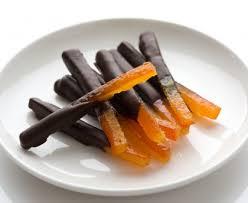 cuisine de a a z orangettes au chocolat de a à z recette de orangettes au