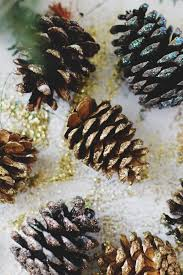 creating your own traditions diy pinecone ornaments