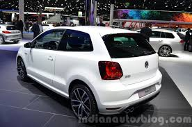 volkswagen polo 2016 black vw polo gti 3 door to launch in india in september 2016