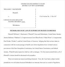 legal motion template world of letter u0026 format
