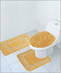 Bathroom Rug Gold Bathroom Rug Sets Roselawnlutheran