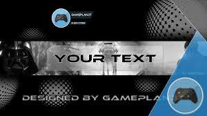 banner design generator pro gaming youtube template banner 2 youtube