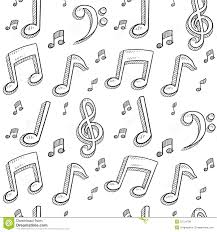 seamless music notes background royalty free stock photos image