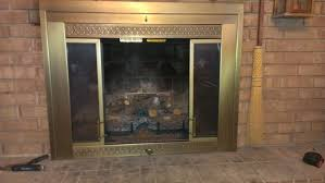 how new fireplace glass doors can help your home look better