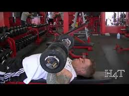 Dumbbell Bench Press Form Good Form U003d Good Mass Dumbbell Flat Bench Press Youtube