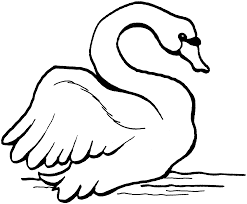 swan coloring pages swans coloring pages free coloring pages