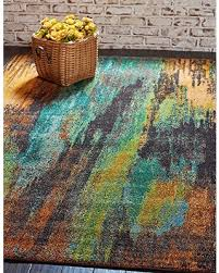 5 X 8 Area Rugs New Savings On Unique Loom Barcelona Collection Multi 5 X 8 Area