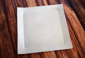 house warming present wedding gift house warming gift or custom signature guestbook platter