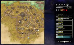 Glenumbra Treasure Map Map Coords Compasses Elder Scrolls Online Addons