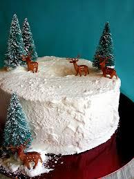 white christmas cake cake designs pinterest angel food cakes