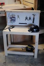homemade kid u0027s toolbench love this great christmas present