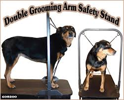 large dog grooming table grooming arm safety stand