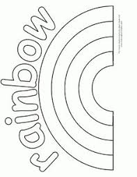 kids coloring pictures rainbows rainbow coloring pages