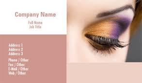 freelance makeup artist business card business card templates beauty