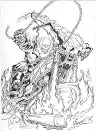 ghost rider coloring page rider coloring pages picture 5470