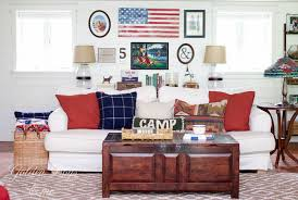 American Flag Living Room by Golden Boys And Me Summer Gallery Wall With Diy Flag Sign