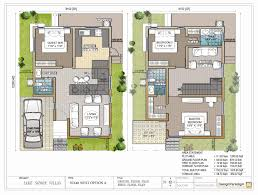 villa duplex house plans india 14 very attractive for 30x50 site